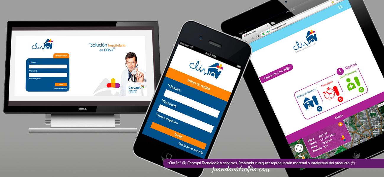 Diseño aplicado a web; para ver proyecto en detalle, ir a sección Impresos-Web.