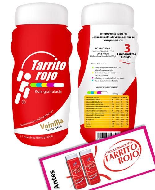Propuesta Rediseño de logo y empaque para suplemento vitamínico