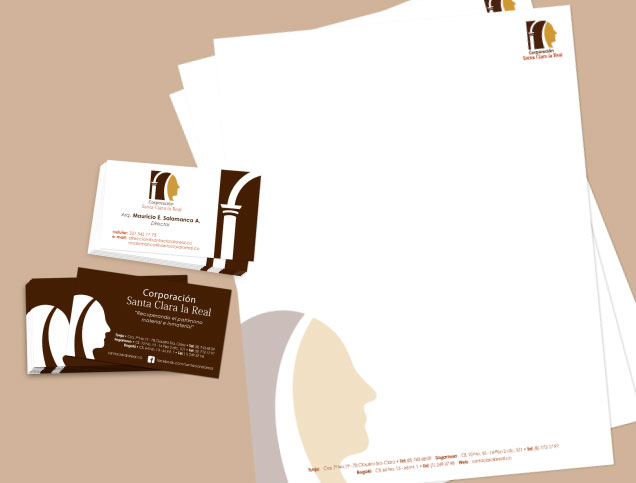 Business card and sheet design, Stationery corporation,