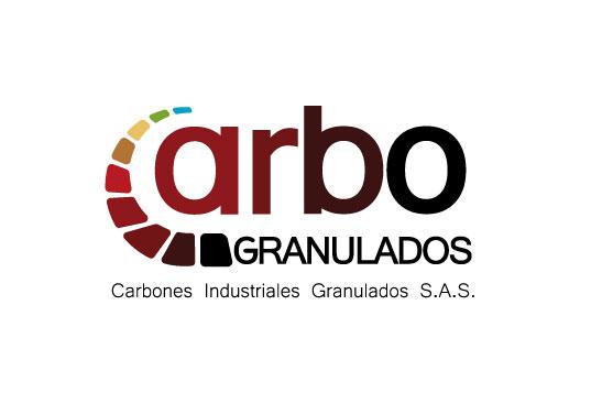 Logo carbones para empresa productora de Carbon industrial Granulado