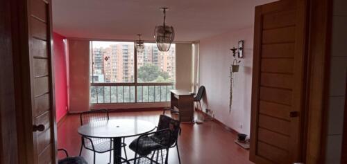 Sala comedor, vista desde cocina