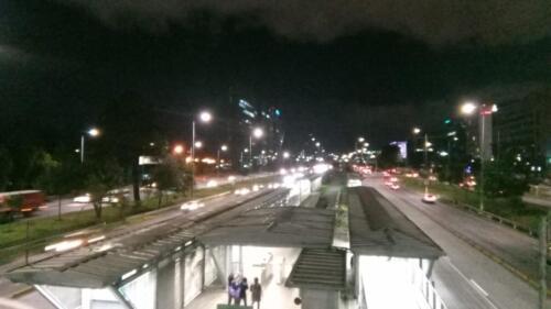 Estación Transmilenio Av. Rojas